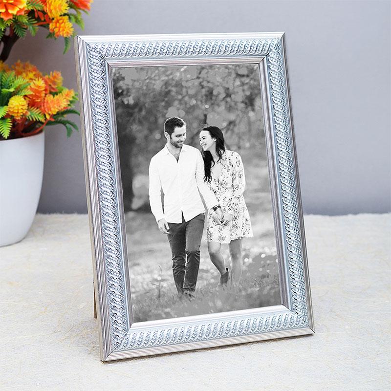 Silver Tabletop Photo Frame