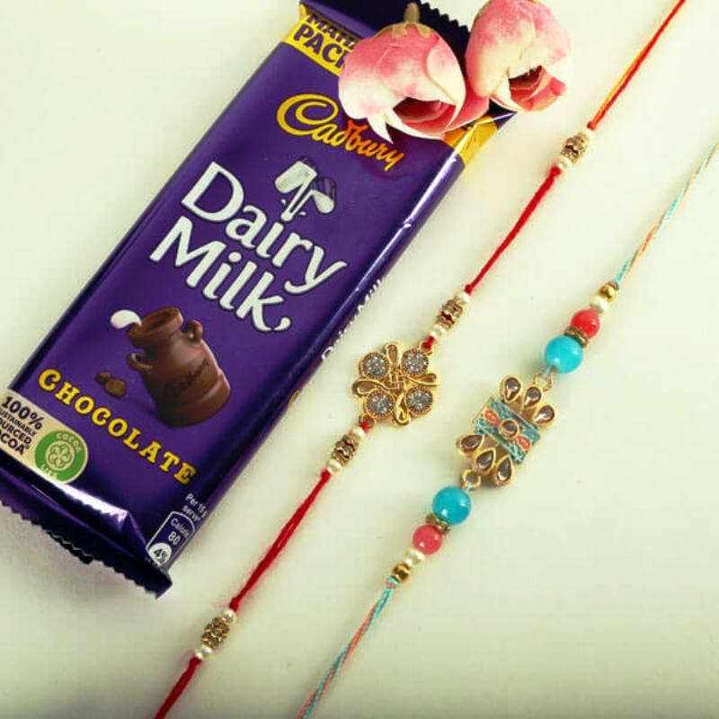 Simple N Sweet Rakhi Combo