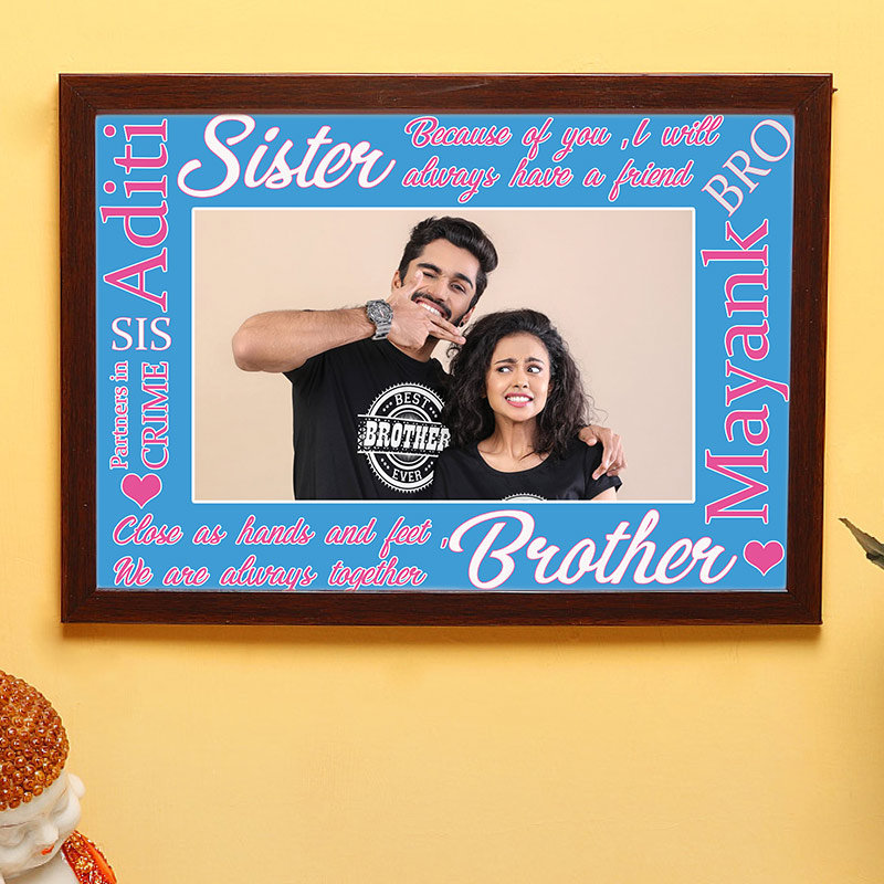 Sis Bro Love Frame