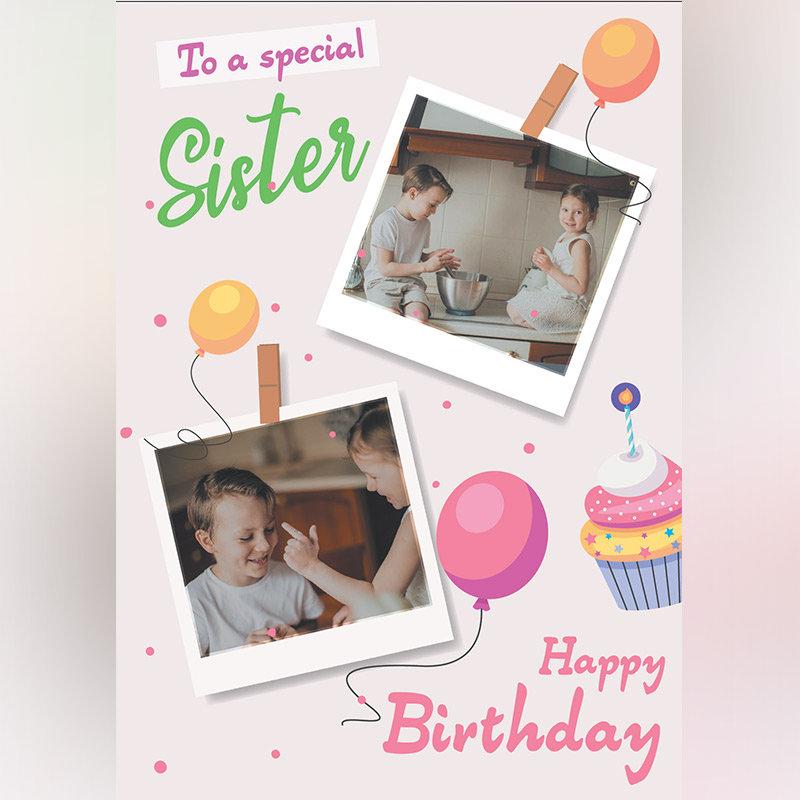 Sister's Birthday E-Cards