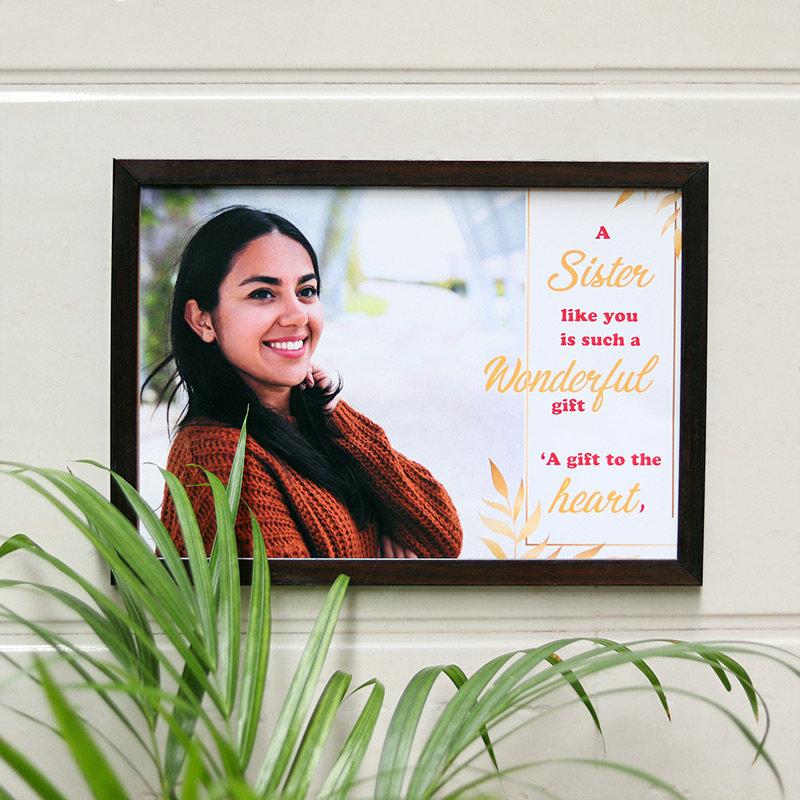 Sister Gift Photo Frame