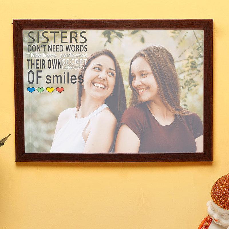 Sisters Love Wallart