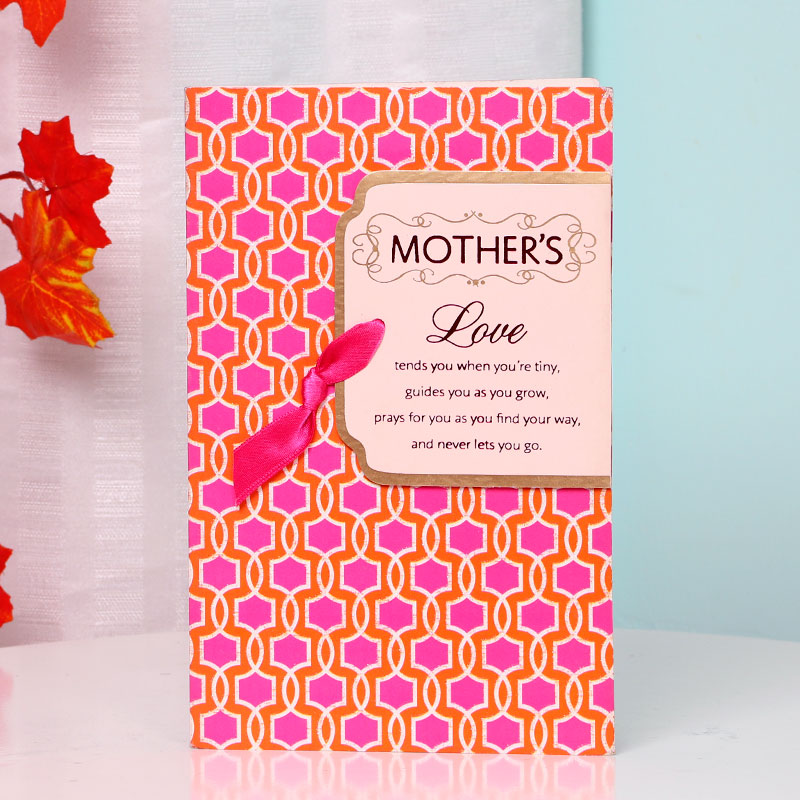 Thank You Greeting Card for Mother