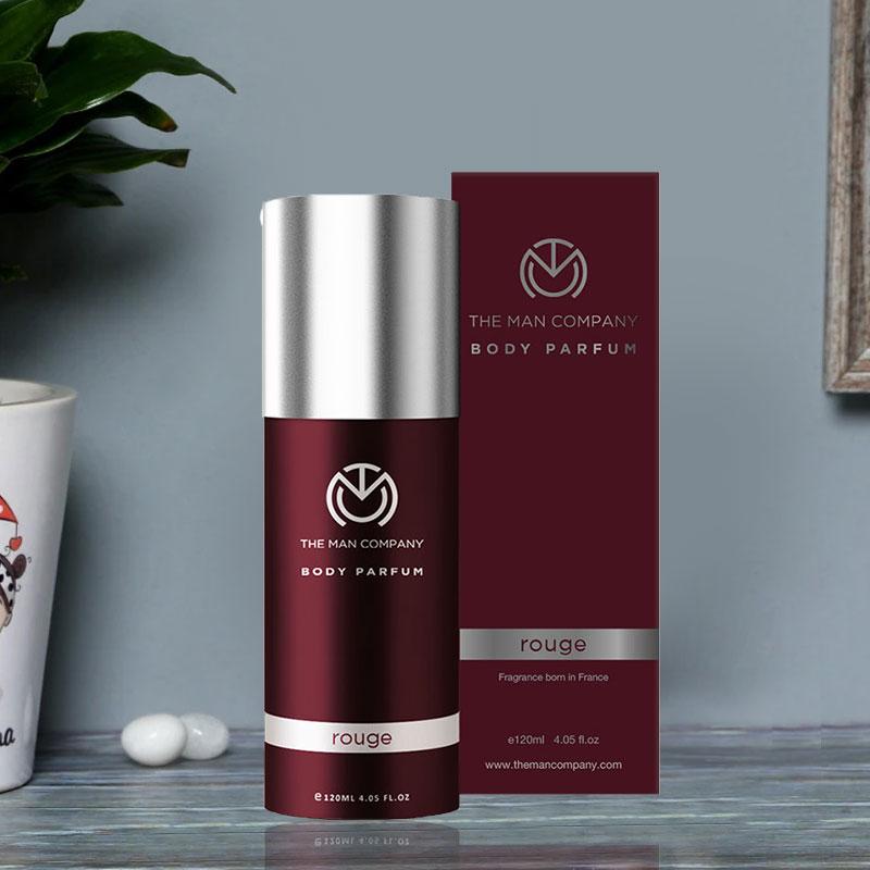 Rouge Body Perfume - Third Gift of Smell Good Men Set Of Gift Hamper