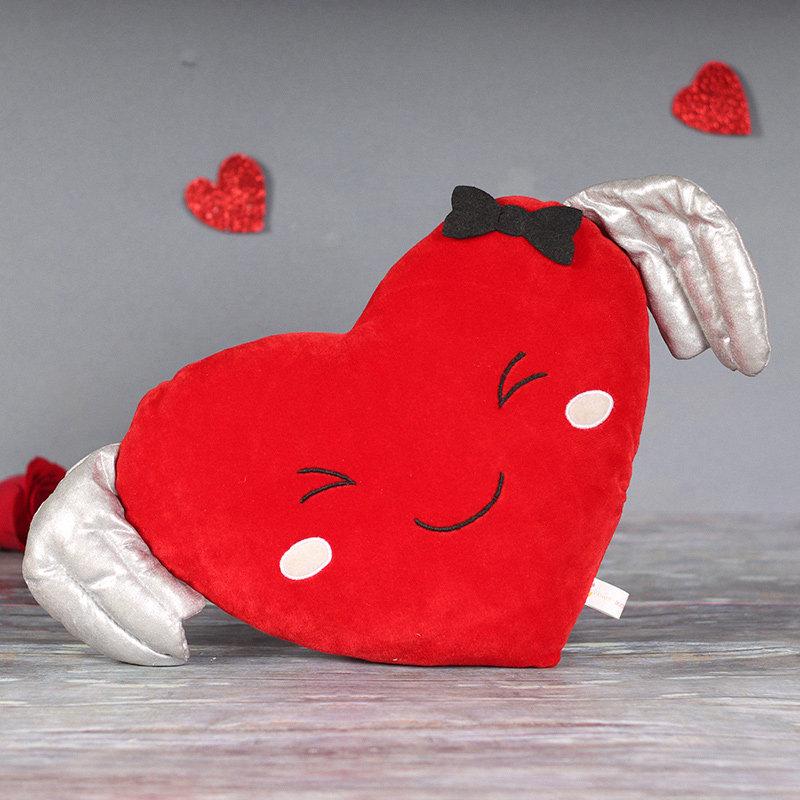 Smiling Heart Cushion Gift