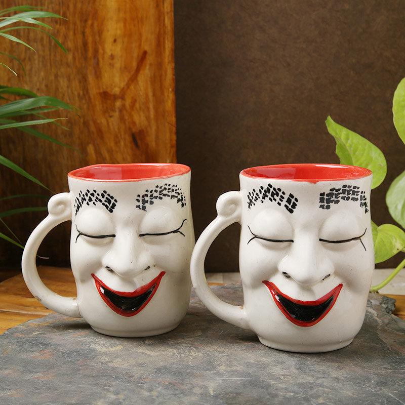 Smiling Mug Planter