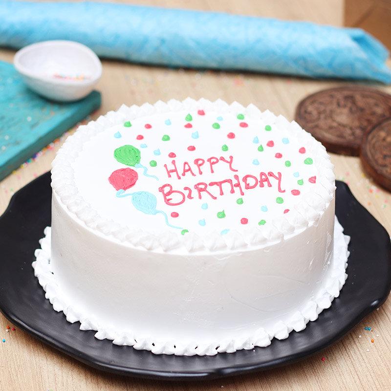 Snowlicious Birthday Cake