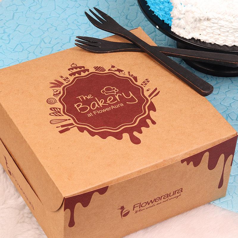 Snowman Designer Cake in a Box