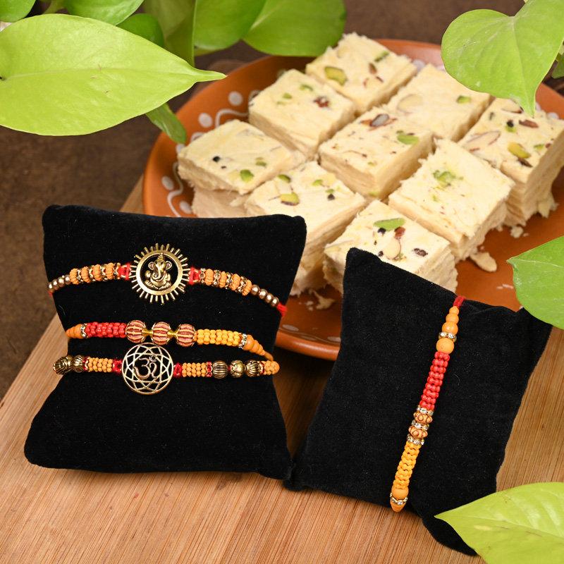 Order Soan Beatific Rakhi Combo Online