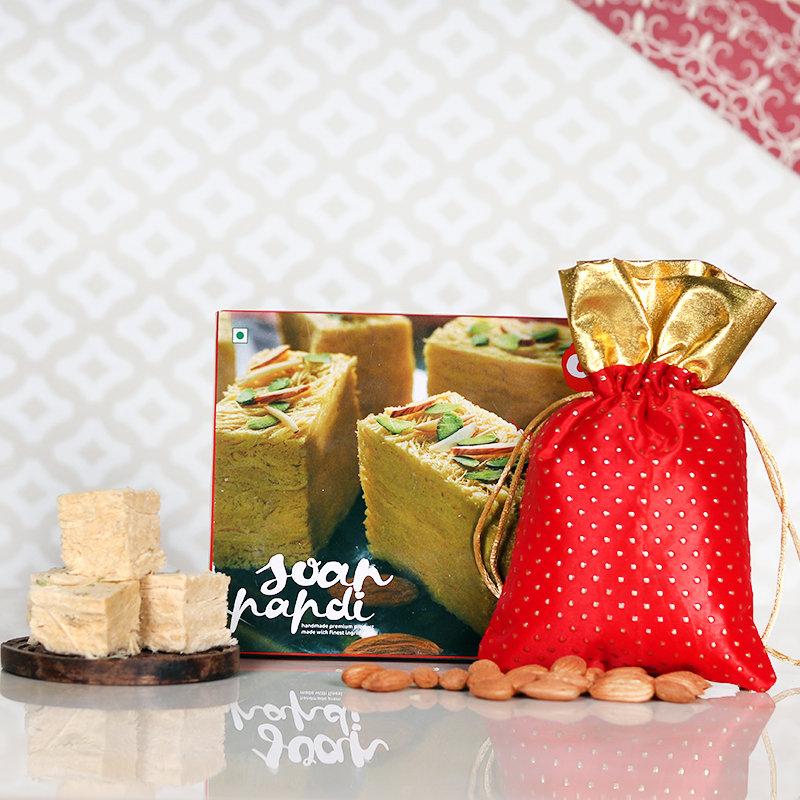 Soan Papdi Diwali Delight - Diwali Gift