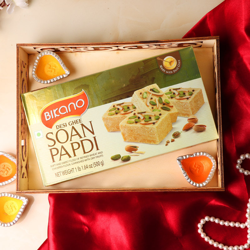 Diwali Special Soan Papdi Gift Hamper