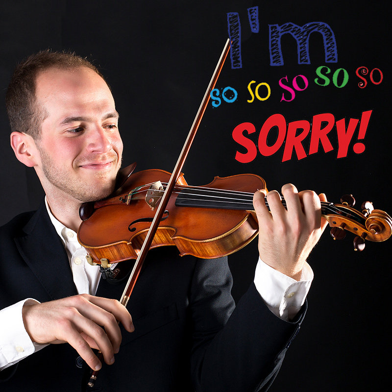 Say Sorry With a Beautiful Song On Violin