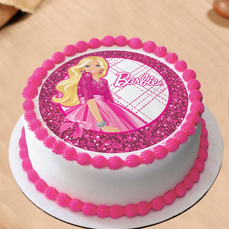 Barbie Poster Cake