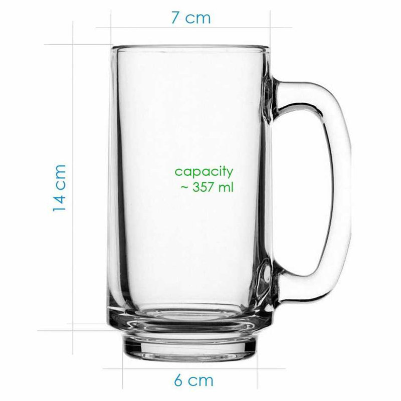 Trendy Fathers Day Beer Mug for Papa