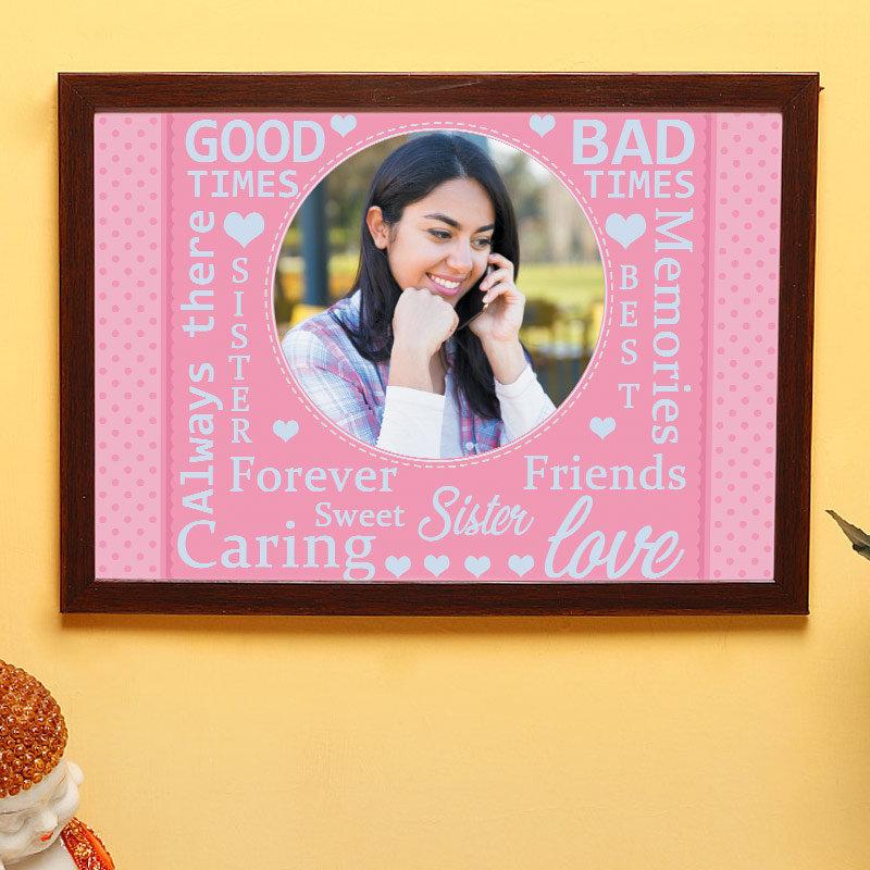 Special Sister Frame Gifts for Rakhi