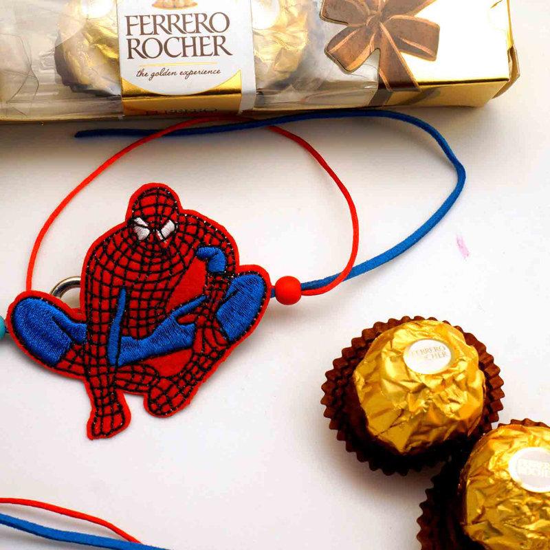 Spiderman Rakhi Combo