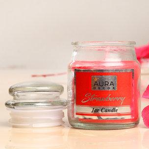 Strawberry Jar Candle