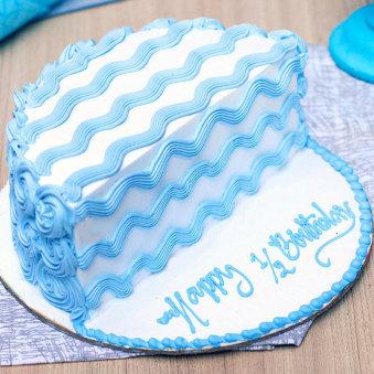 Half Birthday Cake