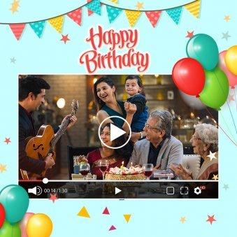 Personalised Birthday Video