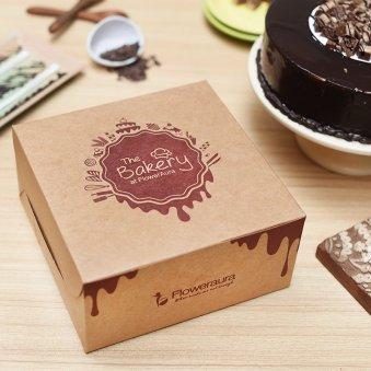 Choco Kitkat Cake in a Box