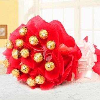 Choco Bonanza - A Bouquet of Ferrero Rocher Chocolates