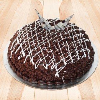 Dark Chocochips Cake