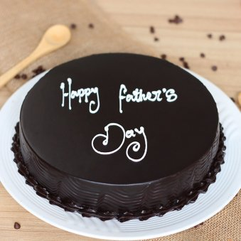 happy fathers day  Chocolate cake