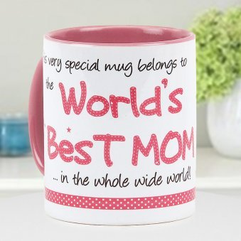 Worlds Best Mom Mug - A Special Mug to Gift to Your Mother