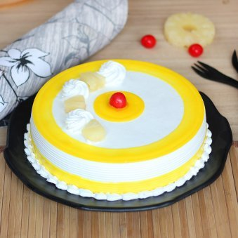 Peoples Pineapple Cake with Normal View
