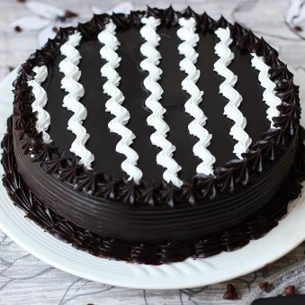 Chocolate Truffle Cake - Zoom View