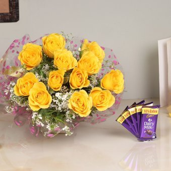chocolate and flowers delivery