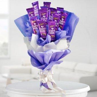 Dairy Milk Chocolate Bouquet