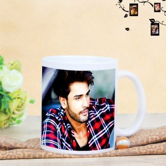 Personalised Brothers Mug with Front Sided View