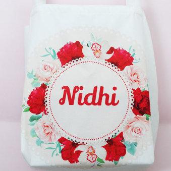 Personalised Handbag for Sister - Rakhi Gifts for Sister Online