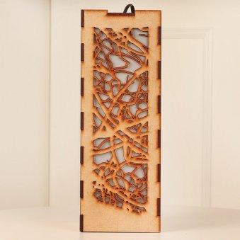 Abstract Web Lamp for her - A Birthday Gift for her