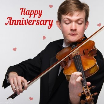Anniversary Special Violinist Surprise