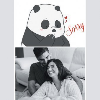 Personalised Sorry E Card