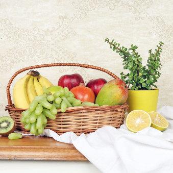 Assorted Fruits Basket Combo
