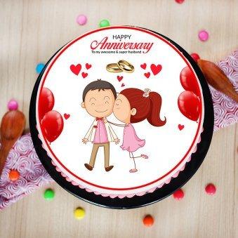 Anniversary Cake for Husband