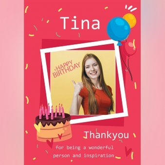 Personalised Birthday E-Cards