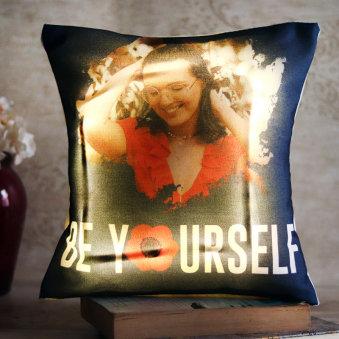 Be Yourself Custom Cushion