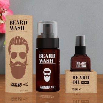Beard Growth Combo - Beard Wash and Beard Oil