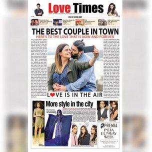 Personalised Digital Newspaper Headlines for Couple
