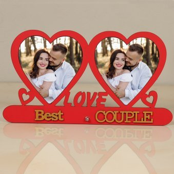 Personalised Love Photo Frame for Couple