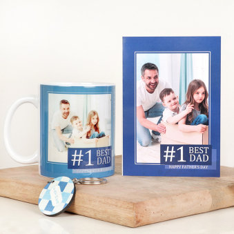 Best Dad Personalised Fathers Day Gift Combo