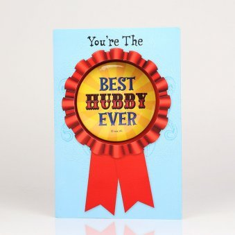 Best Hubby Card