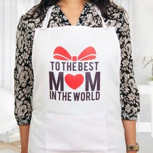 Best Mom Apron in Wearing View
