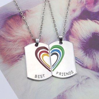 Best Friends Chain Set - Metal Chain Set for Friends