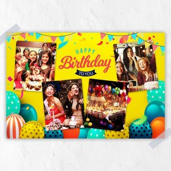 Personalised E Birtdhay Collage