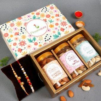 Brotherhood Signature Box - Rakhi Gifts for Brother Online